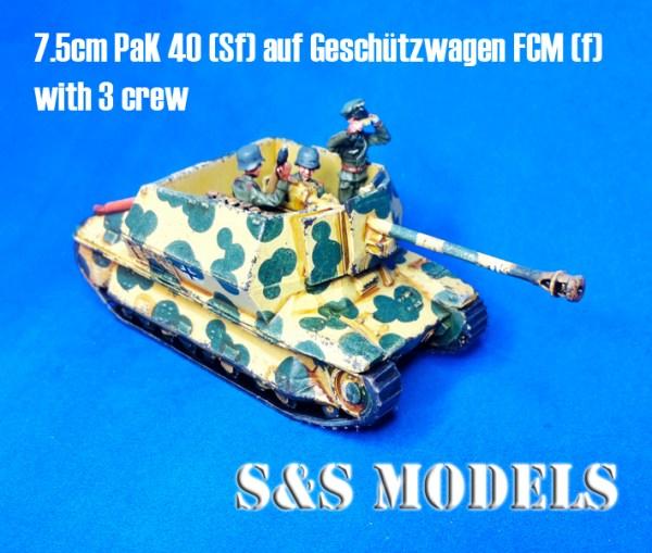 7.5cm Pak40 L-46 auf Geschutzwagen FCM(f)