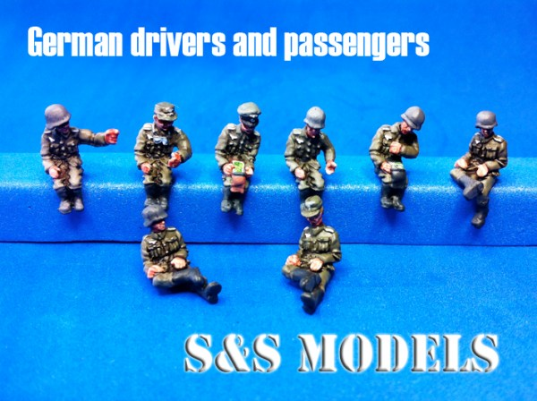 German drivers & passengers