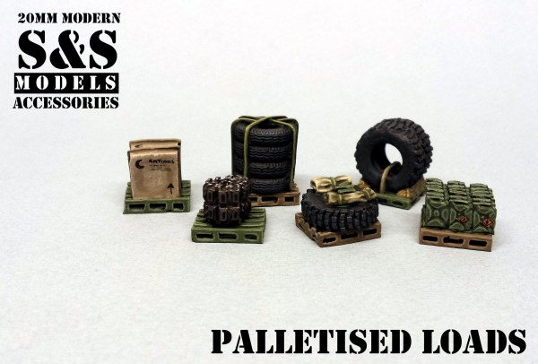 Palletised loads pack of 6