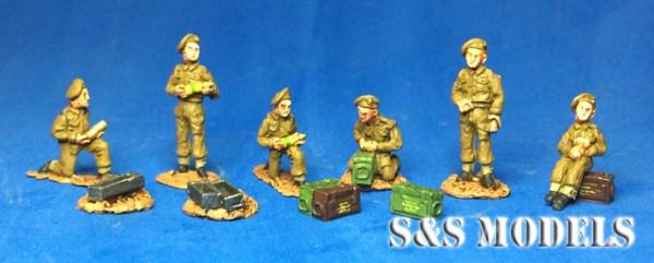 25 pdr gun & crew