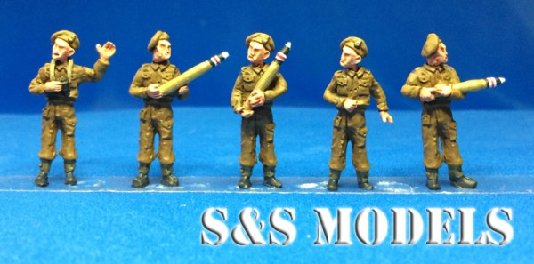 1/72 M10 GB Crew figs pack of 3