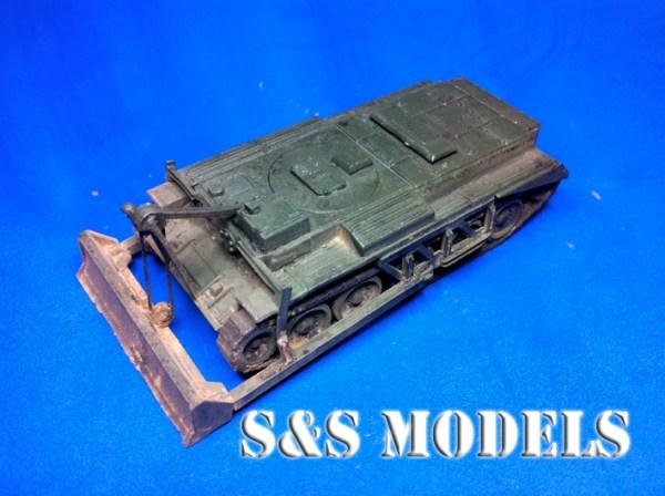 1/72 scale Centaur dozer conversion kit