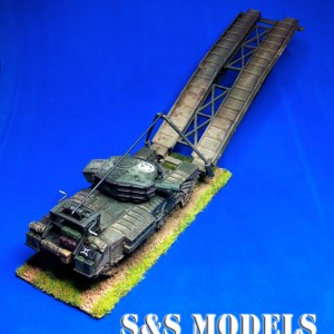1/72 PSC Churchill AVRE, SBG & fascine & cradle conversion offer