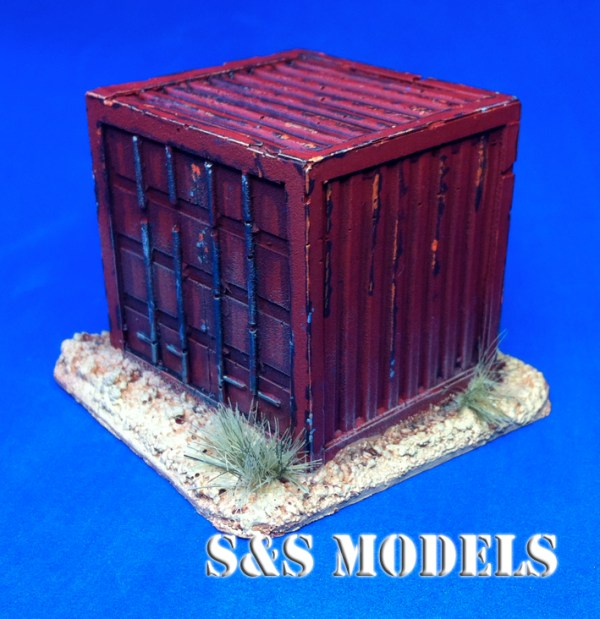 Standard 8ft shipping container