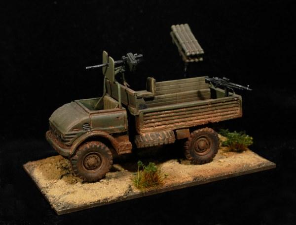 Early Unimog 4x4 gs truck lwb