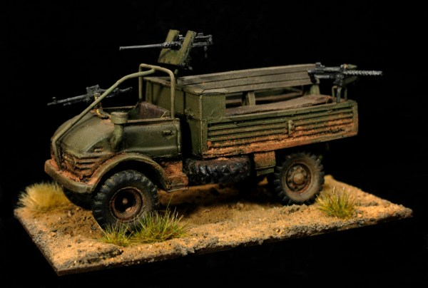 Early Unimog 4x4 gs truck lwb