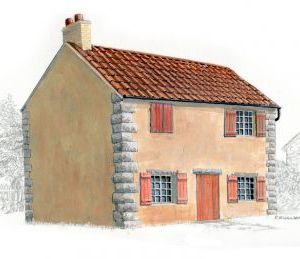 Armourfast 1/72 Farm house kit