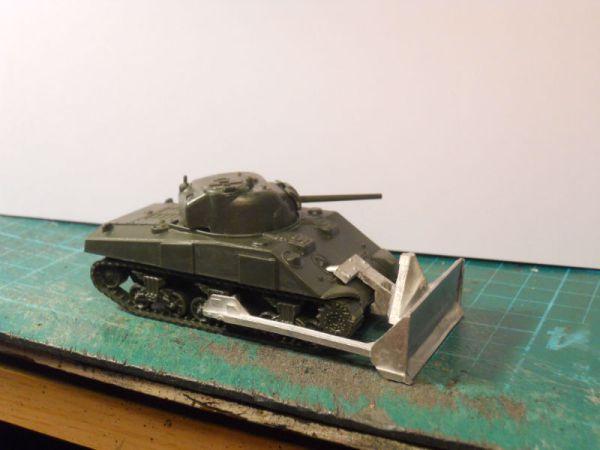 Single Armourfast M4A3 & M1 dozer blade offer