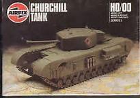 Airfix Churchill mk7 tank