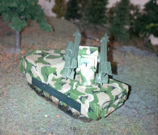 M48 Chapperal SP A/A missile