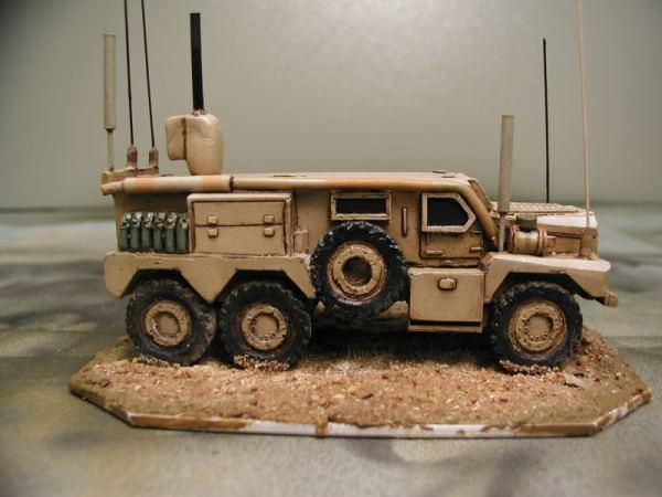 Cougar 6x6 MRAP