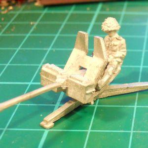 Rheinmetall 20mm A/A gun on ground mount