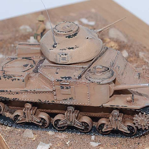 Correct Grant turret for Airfix Grant/Lee kit