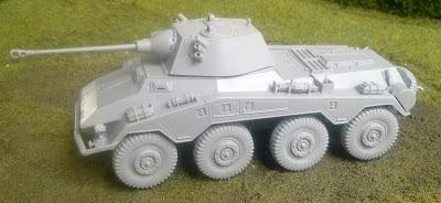Italeri 1/56th Puma (sdkfz 234/2) a/car