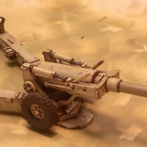 U.S.A. M198 155mm howitzer