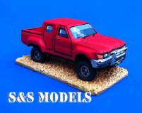 Toyota Hilux 4 door pick up (Technical)