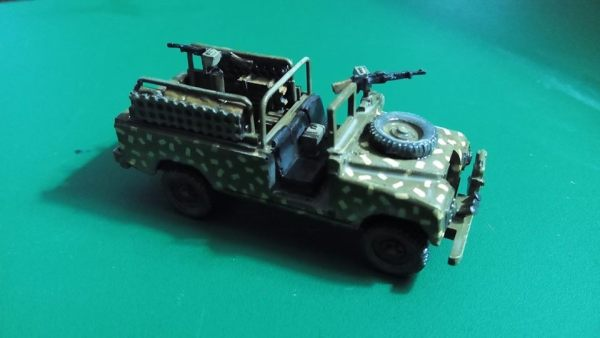 Rhodesian armed Land Rover