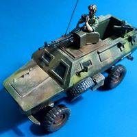 1/72 post war African vehicles