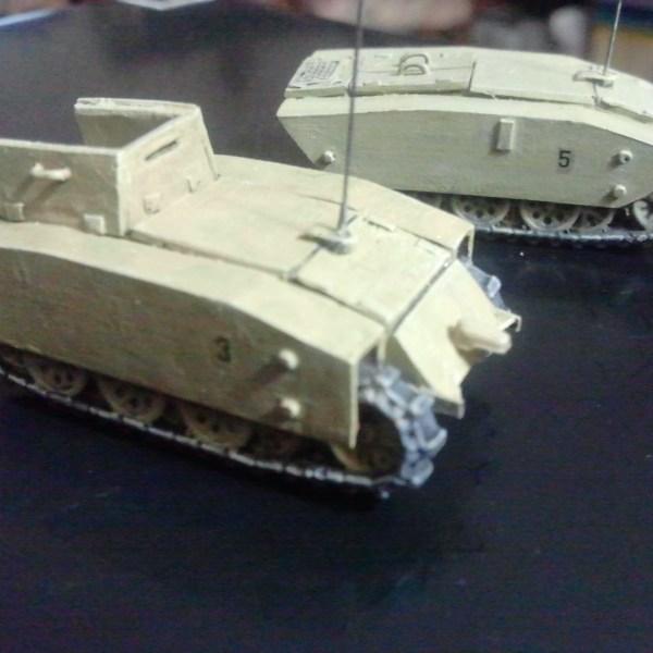 SDKFZ 304 Springer Demolition tank