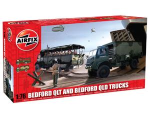 Airfix twin 1/76 Bedford QL kit