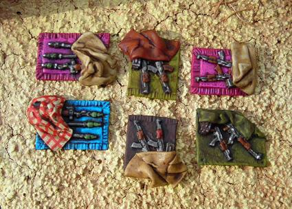Weapons cache's pack of 10