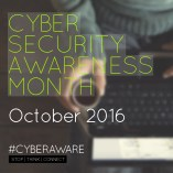 Cyber Aware promotion to raise cyber security awareness