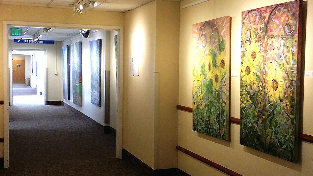 Brattleboro Memorial Hospital hallway