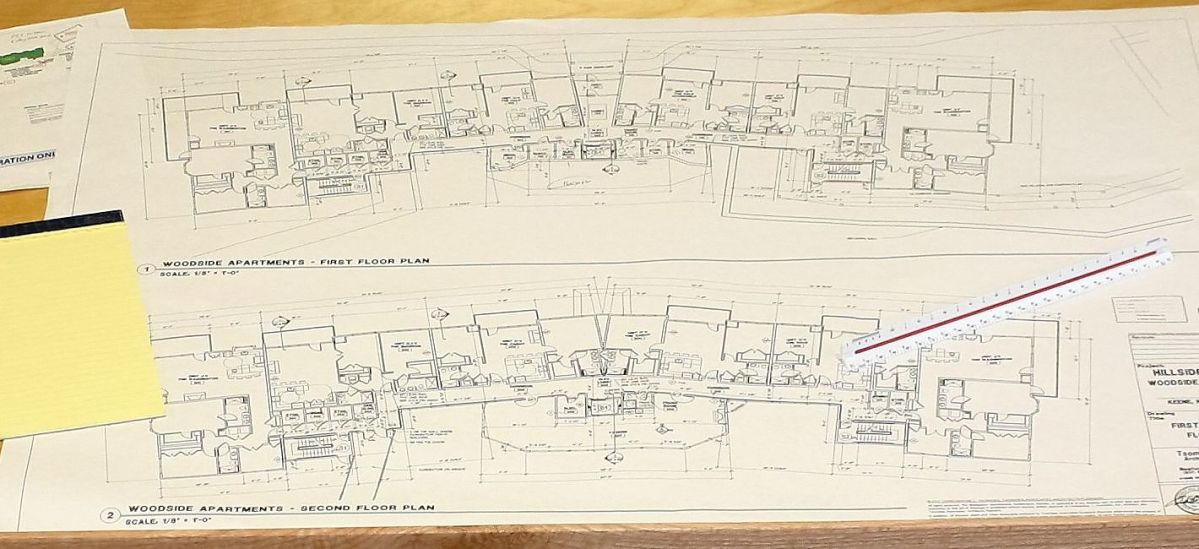 blueprints of local construction