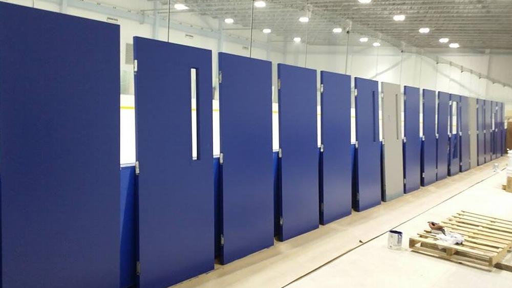 Keene Ice Arena doors