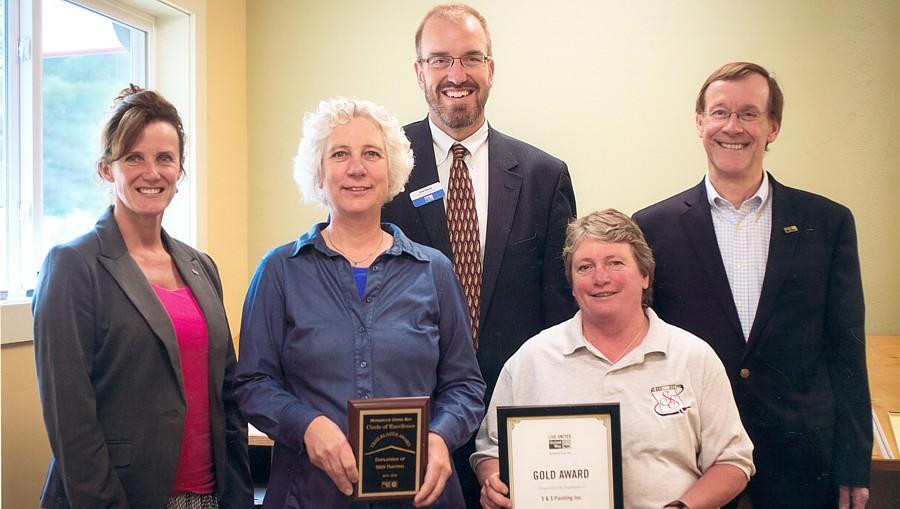 MUW Gold Award for 2015-16