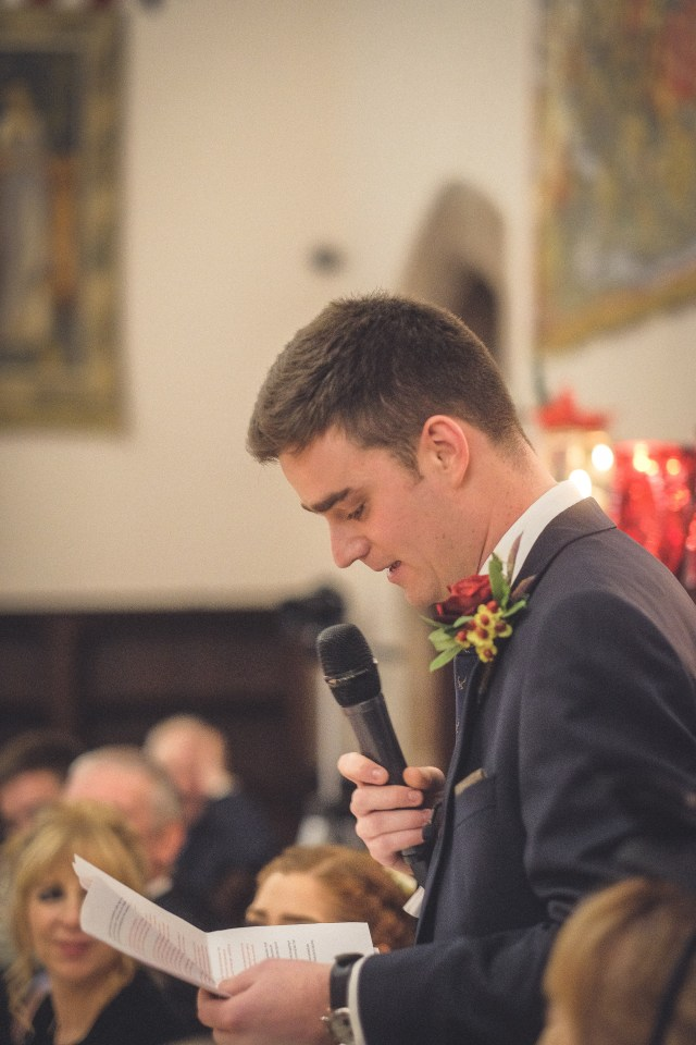 Groom's speech at Cheshire wedding