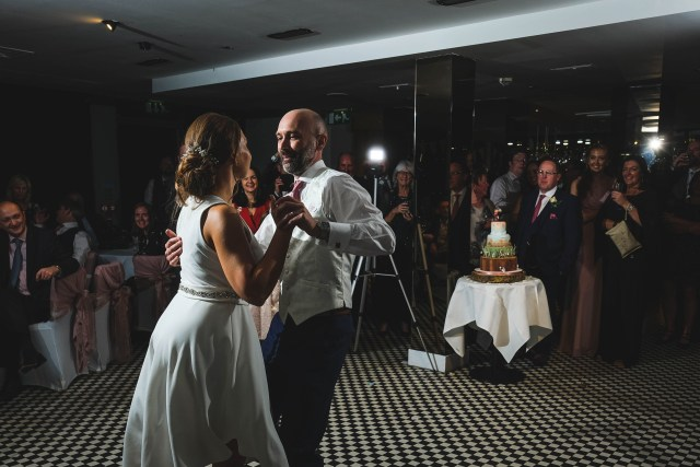 First dance at Holiday Inn Express - Liverpool, Hoylake