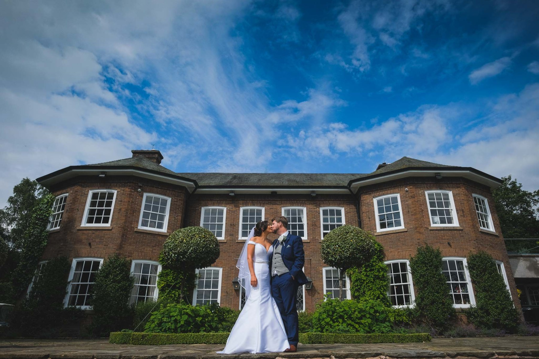 Cheshire Wedding Photographers at Delamere Manor
