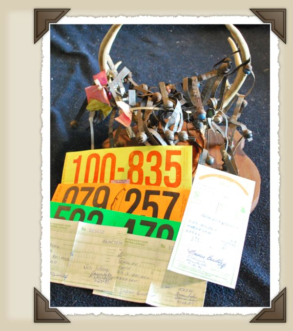 Old Hunting Tags.