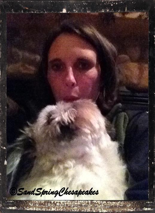 Selfie with Cooper.