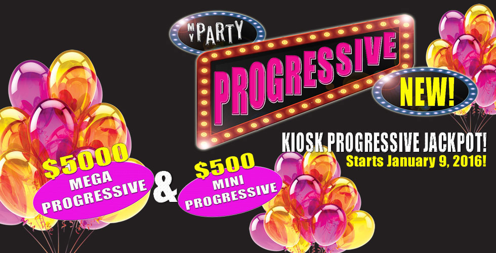 Sands My Party Mega & Mini Progressive