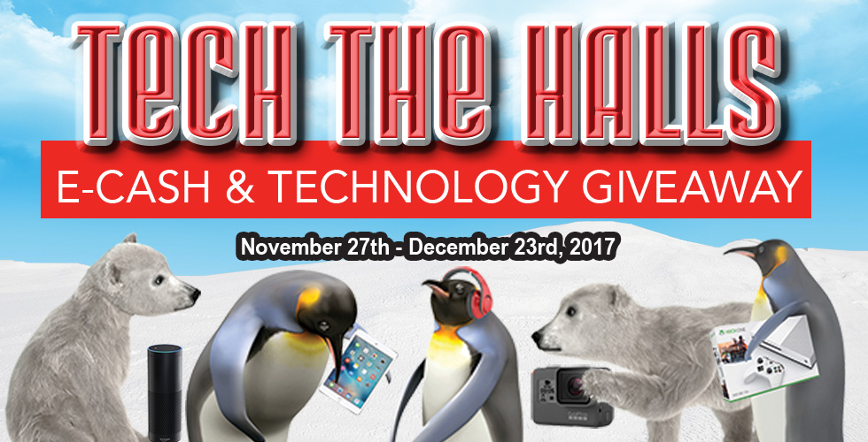 Tech the Halls Giveaway - Promotions & Casinos in Reno NV