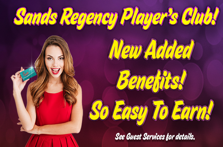 Players Club Benefits - Casino in Reno NV