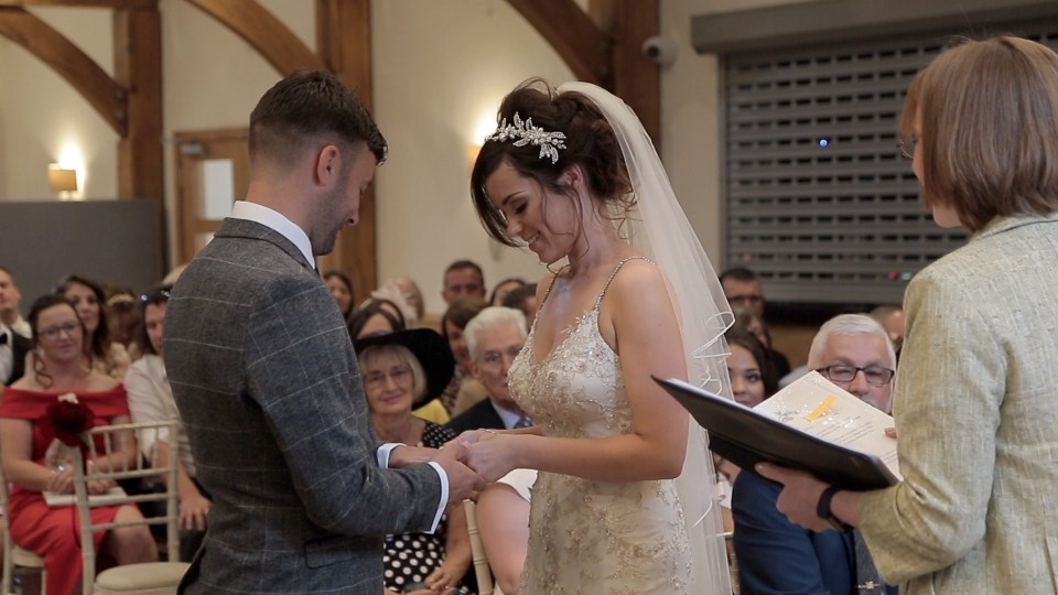 Gamekeeper's Inn wedding ceremony video still