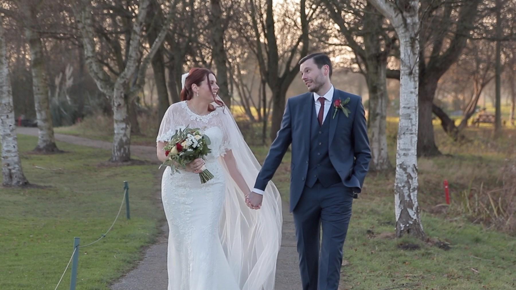Wedding at Formby Hall near Liverpool