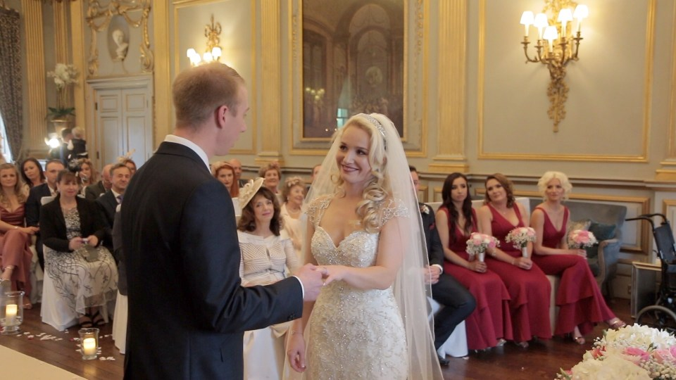 Wedding videographer image from Liverpool wedding