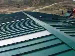 roof Cover-joints Sandwich Panel
