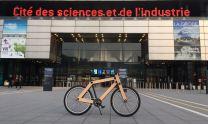 Sandwichbikes at LA CITÉ DES SCIENCES ET DE L'INDUSTRIE