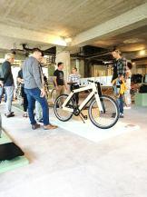 Sandwichbikes at opening Dutch Bike