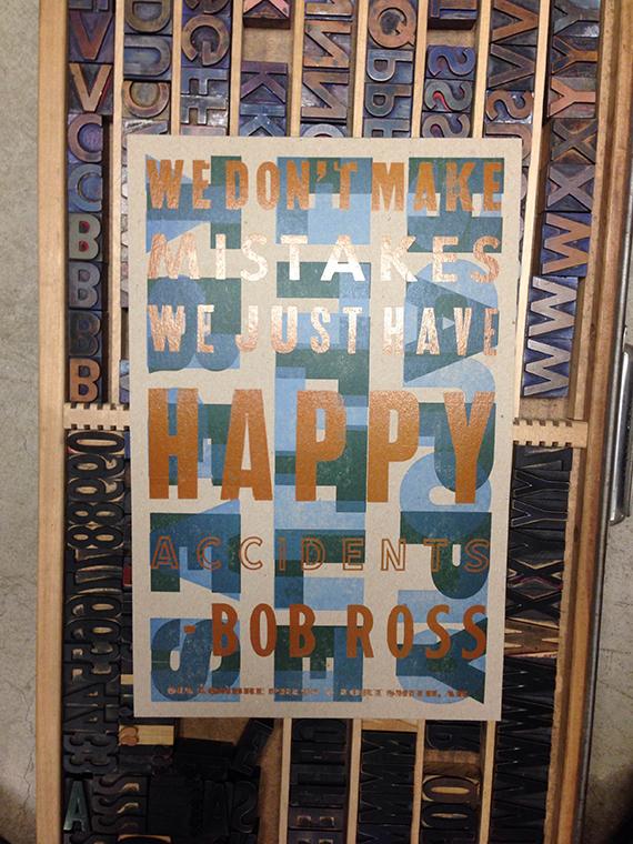 Bob Ross Poster