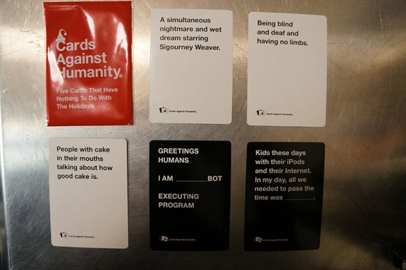 5 Cards That Have Nothing To Do With the Holidays.