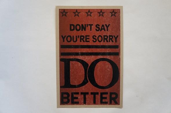 Do Better Poster