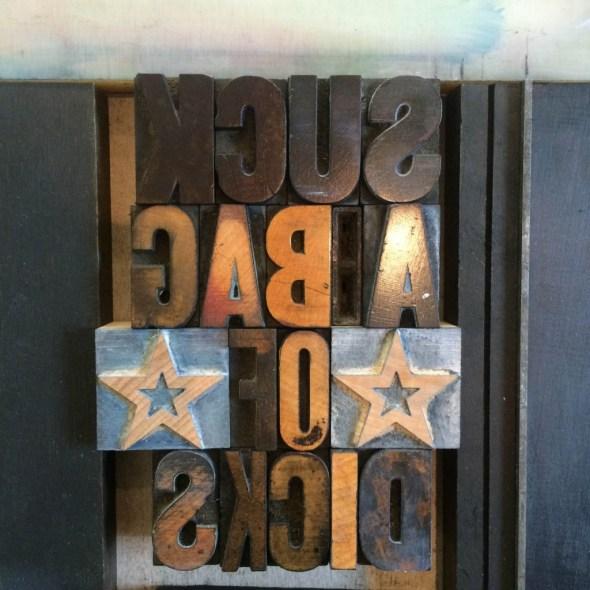 Bag Type on Press