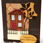 Hero Arts House: Fall Tutorial