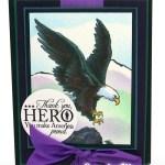 Airbrushed Eagle Card